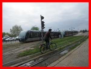 cycliste correspondance tram