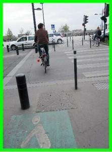 cycliste passage piéton ok