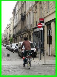 cycliste sens interdit sauf vélo